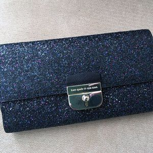 Kate Spade Sparkly Clutch NWOT
